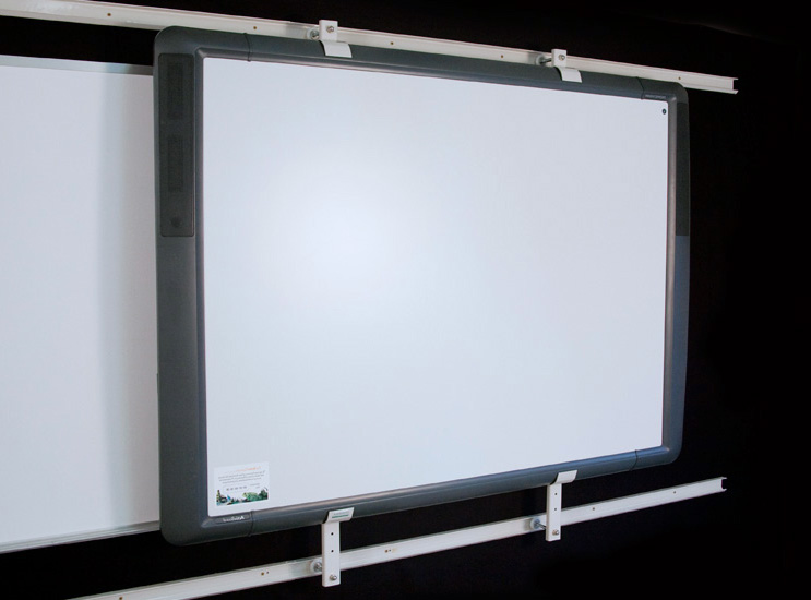 whiteboard tv lcd mount solutions track technology systems. Black Bedroom Furniture Sets. Home Design Ideas