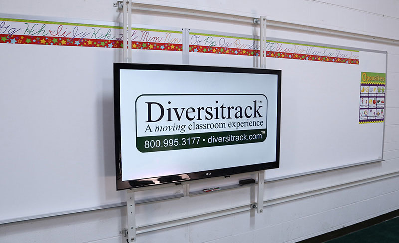 diversitrack smart board and whiteboard track technology systems. Black Bedroom Furniture Sets. Home Design Ideas